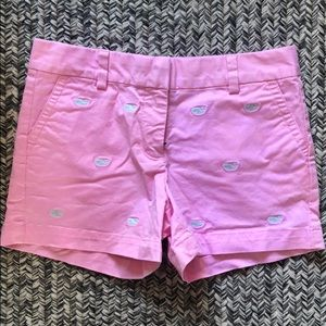 Vineyard Vines Girls pink shorts. Sz 12. NWOT